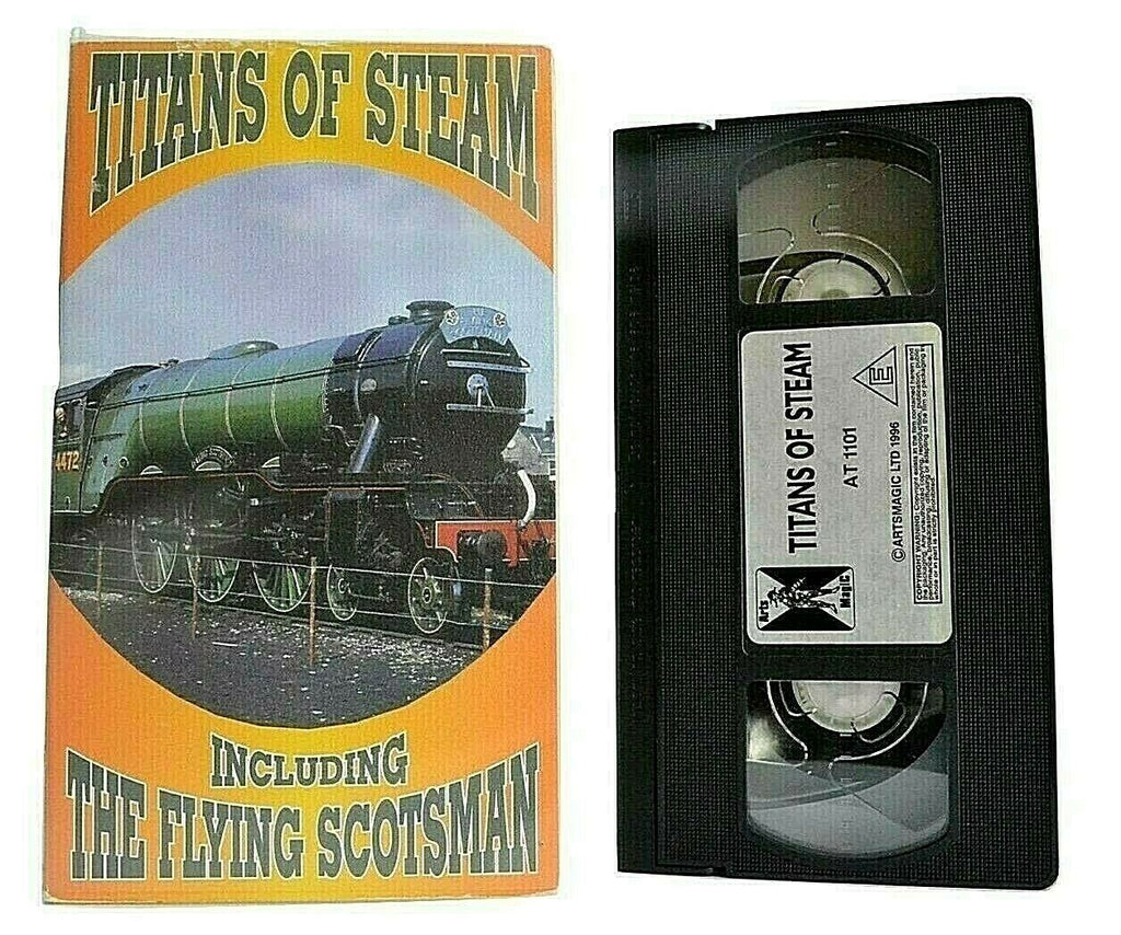 Titans Of Steam [The Flying Scotsman]: British Rail - Locomotives - London - VHS