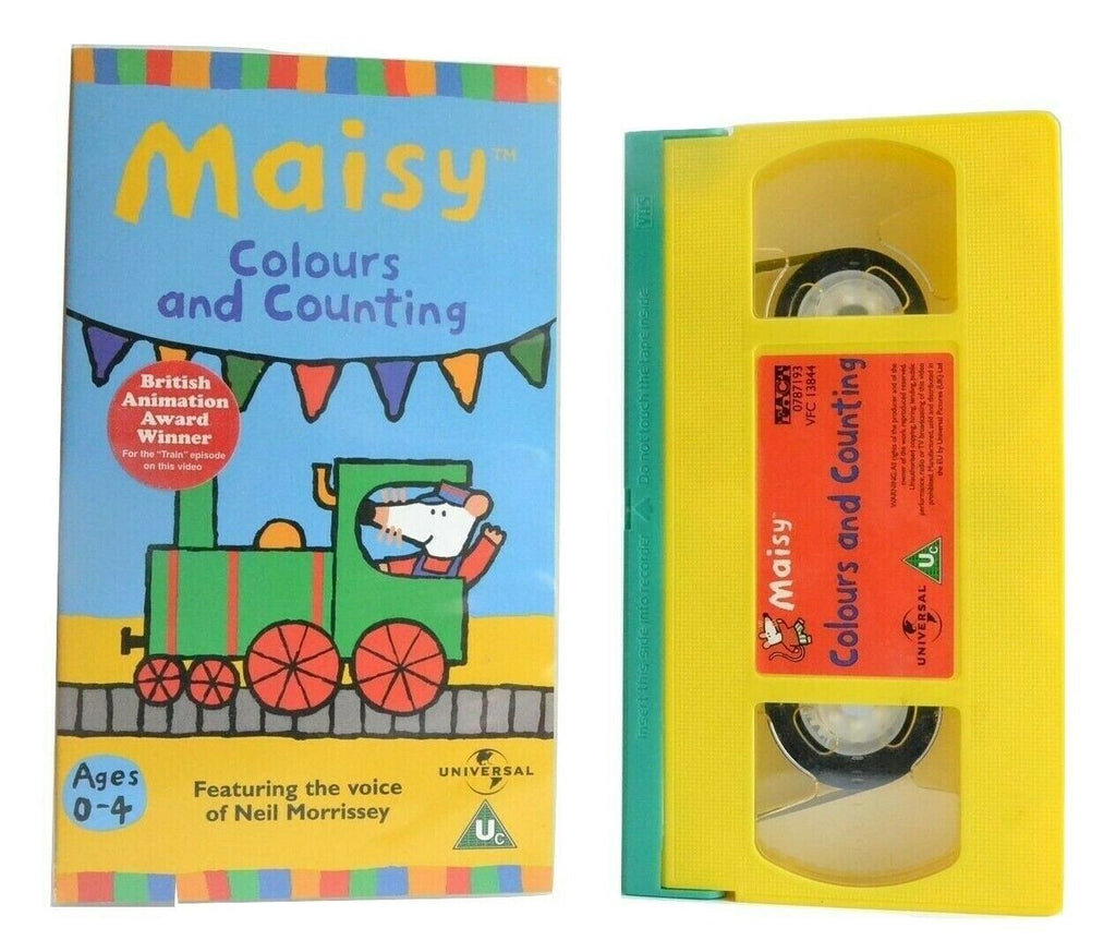 Maisy: Colours And Counting (2000) - Animated - Educational - Children's - VHS