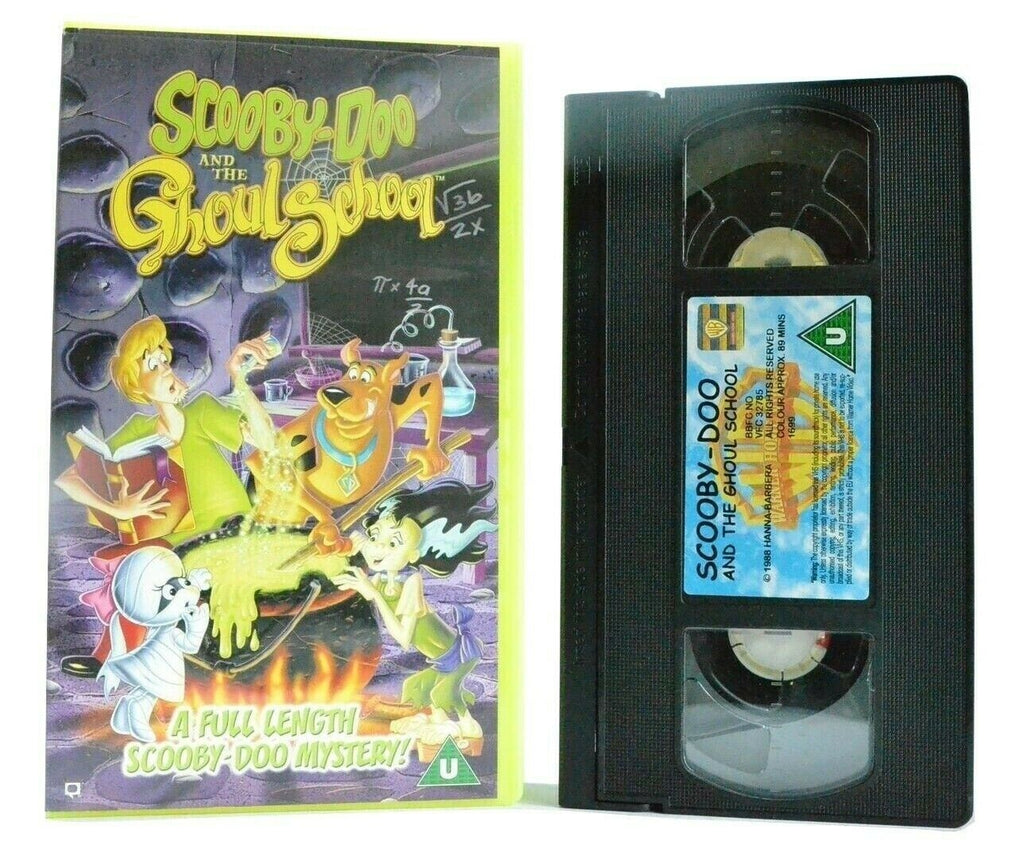 Scooby-Doo And The Ghoul School - Mystery Animated Adventures - Children's - VHS