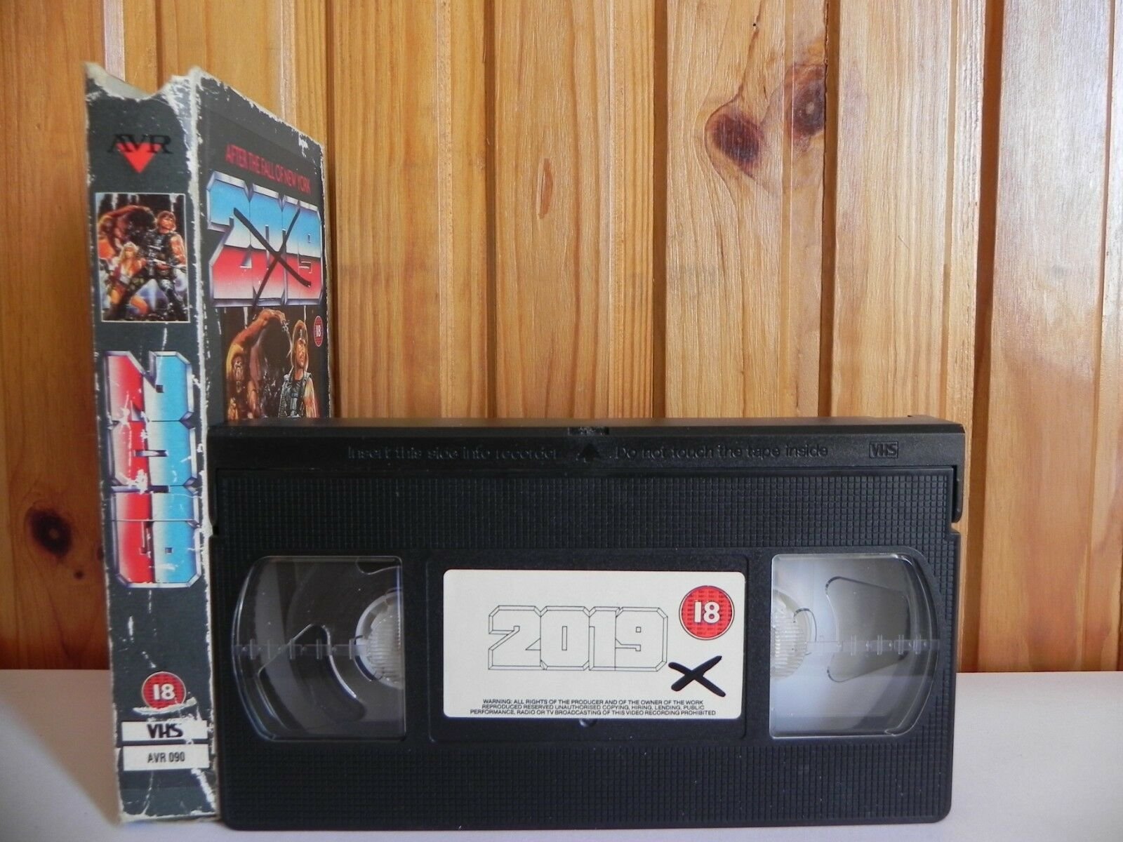 2019, After, AVR, Carton, Cert, Fall, New, Of, Pal, Sci-Fi & Fantasy, The, VHS, York