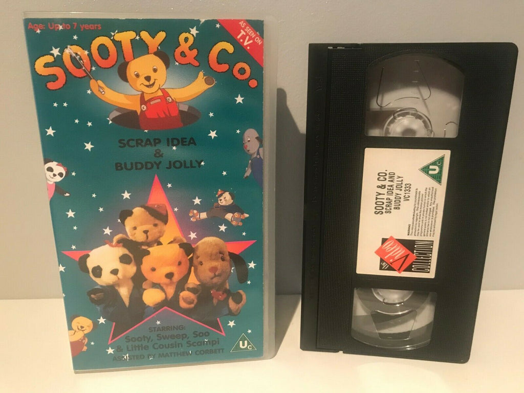 Sooty & Co.: Scrap Idea & Buddy Jolly [2-7 Yrs Old] Children's Education - VHS