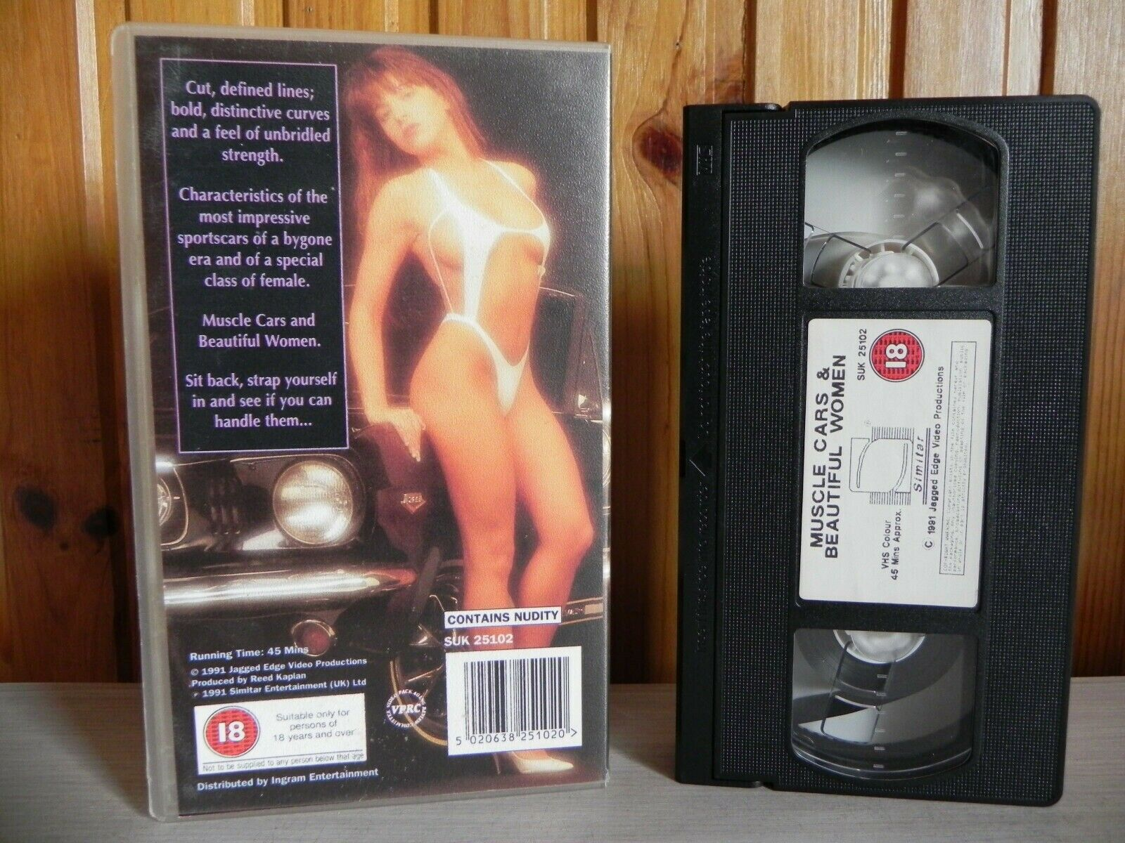 Muscle Cars & Beautiful Women; [Susie Hitchensen] Sportscars - Sports - Pal VHS