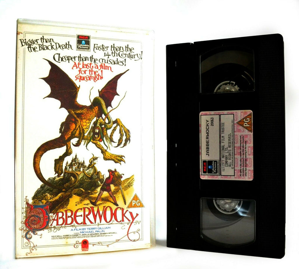 Jabberwocky: Film By T.Gilliam (1977) - Comedy/Fantasy - Michael Palin - Pal VHS