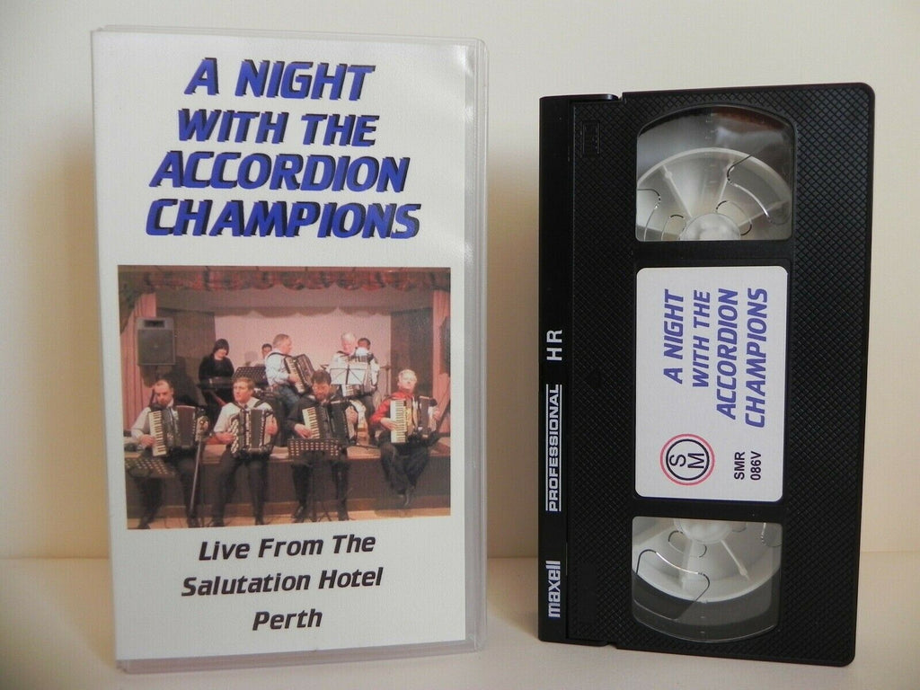 Accordion, Champions, Hotel, Live, Music, Music & Concerts, Night, No, Pal, Salutation, The, VHS, With