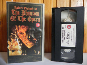 The Phantom Of The Opera - Castle Vision - Drama - Robert Englund - Pal VHS