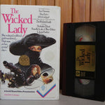 The Wicked Lady - Faye Dunaway - Guild - Large Box - Drama - Pre-Cert - Pal VHS