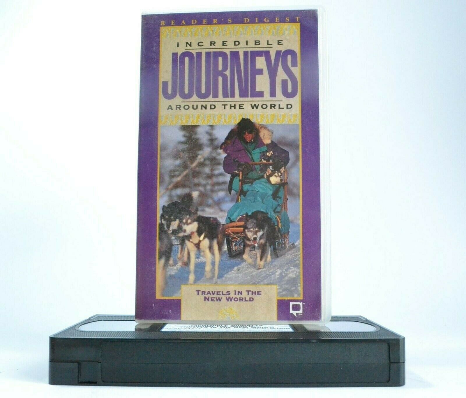 Incredible Journeys: Travels In The New World - Reader's Digest - Alaska - VHS