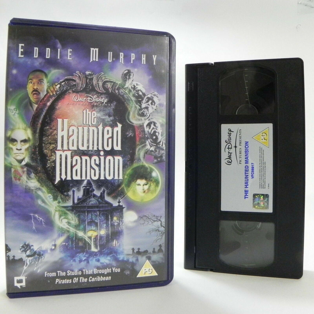 The Haunted Mansion - Walt Disney - Comedy Adventure - E.Murphy - Kids - VHS