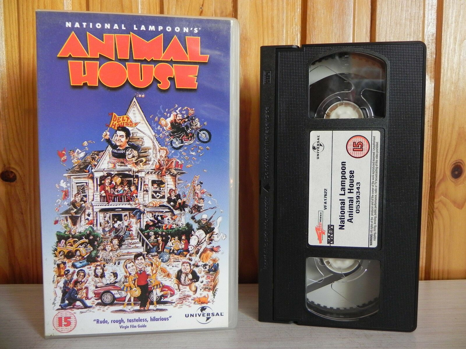 Animal House - Universal - Comedy - Rude - Rough - Hilarious - Pal VHS
