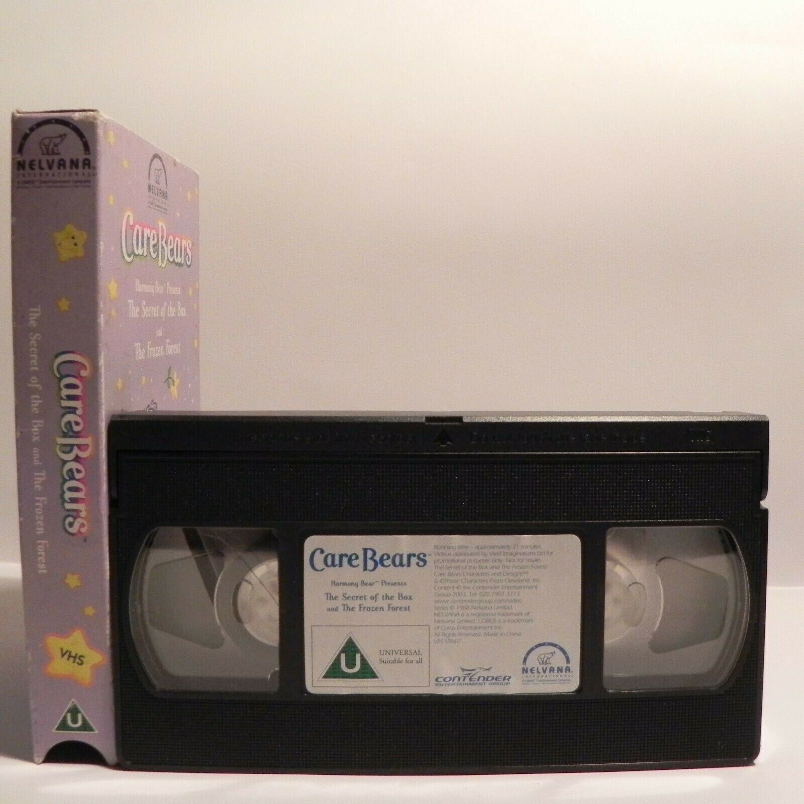 Care Bears - Carton Box - Classic Animation - Exciting Adventures - Kids - VHS