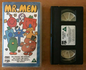 Mr. Men (Vol. 4); [Roger Hargreaves]: Mr. Sneeze - Mr. Dizzy - Animated - VHS