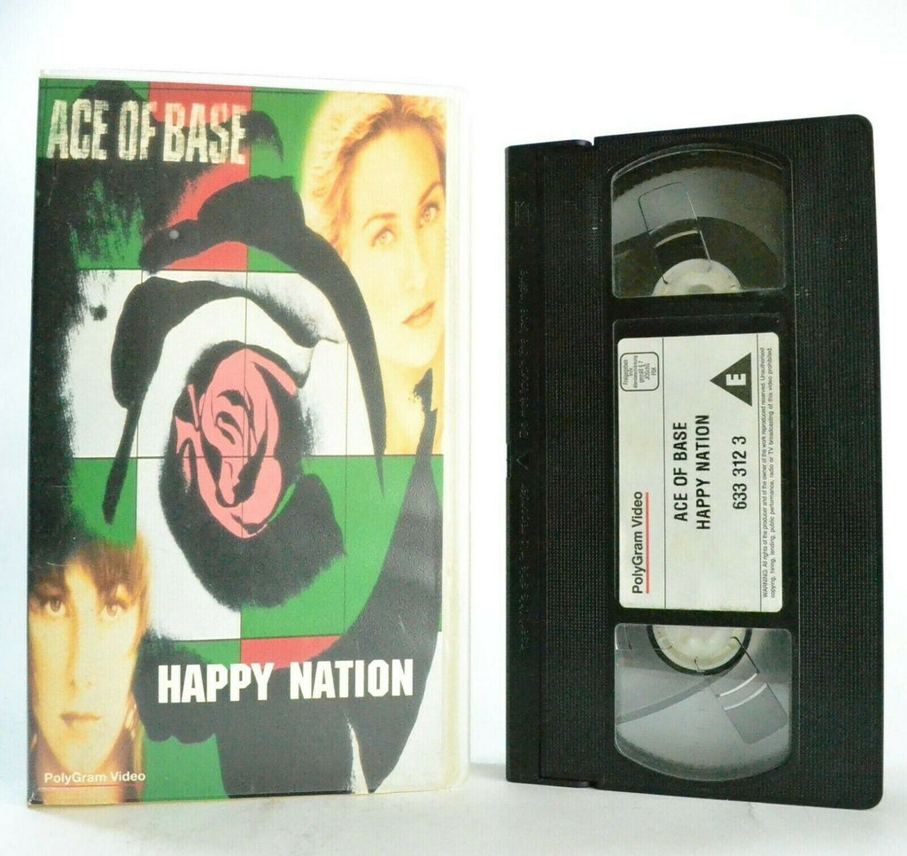 Ace Of Base: Happy Nation - Video Collection - Hit Singles - Music - Pal VHS