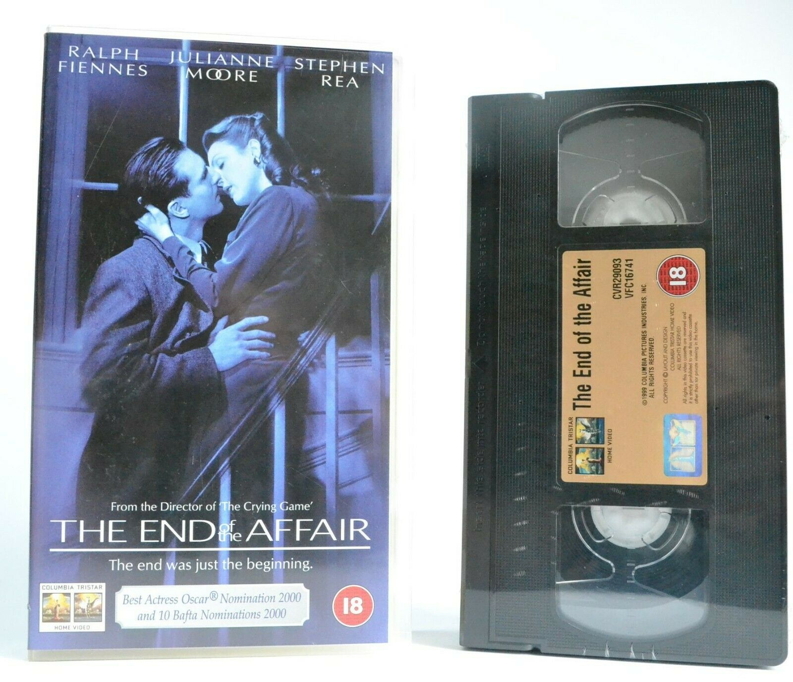 The End Of The Affair (1999): Brand New Seald - Drama - R.Fiennes/J.Moore - VHS