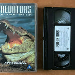 Predators Of The Wild: Crocodiles And Alligators [Documentary] Pal VHS