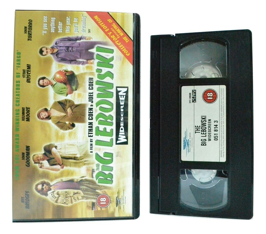 Big Lebowski - PolyGram - Black Comedy - Wide Screen - Collector's Edition - VHS