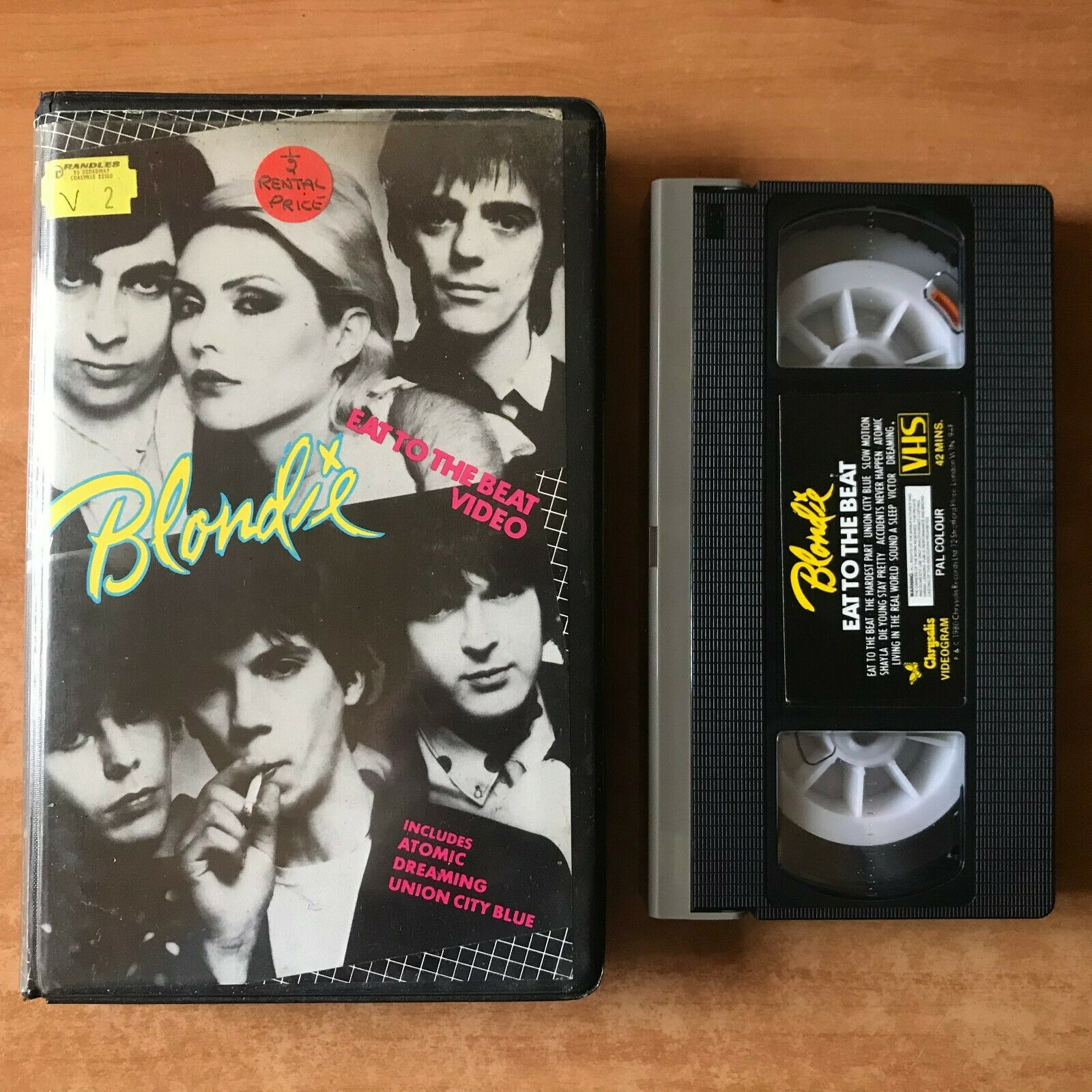 Blondie: Eat To The Beat Video [Big Box]; New York - Debbie Harry - Music - VHS