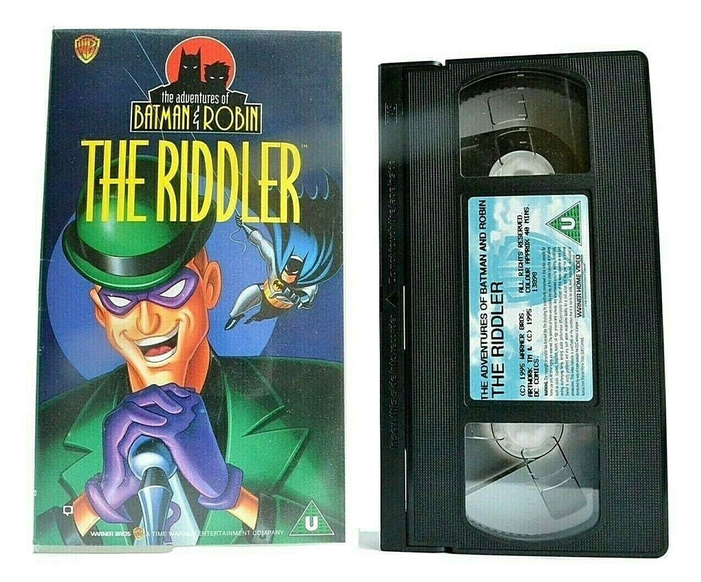 The Adventures Of Batman & Robin: The Riddler - Animated - Children's - Pal VHS