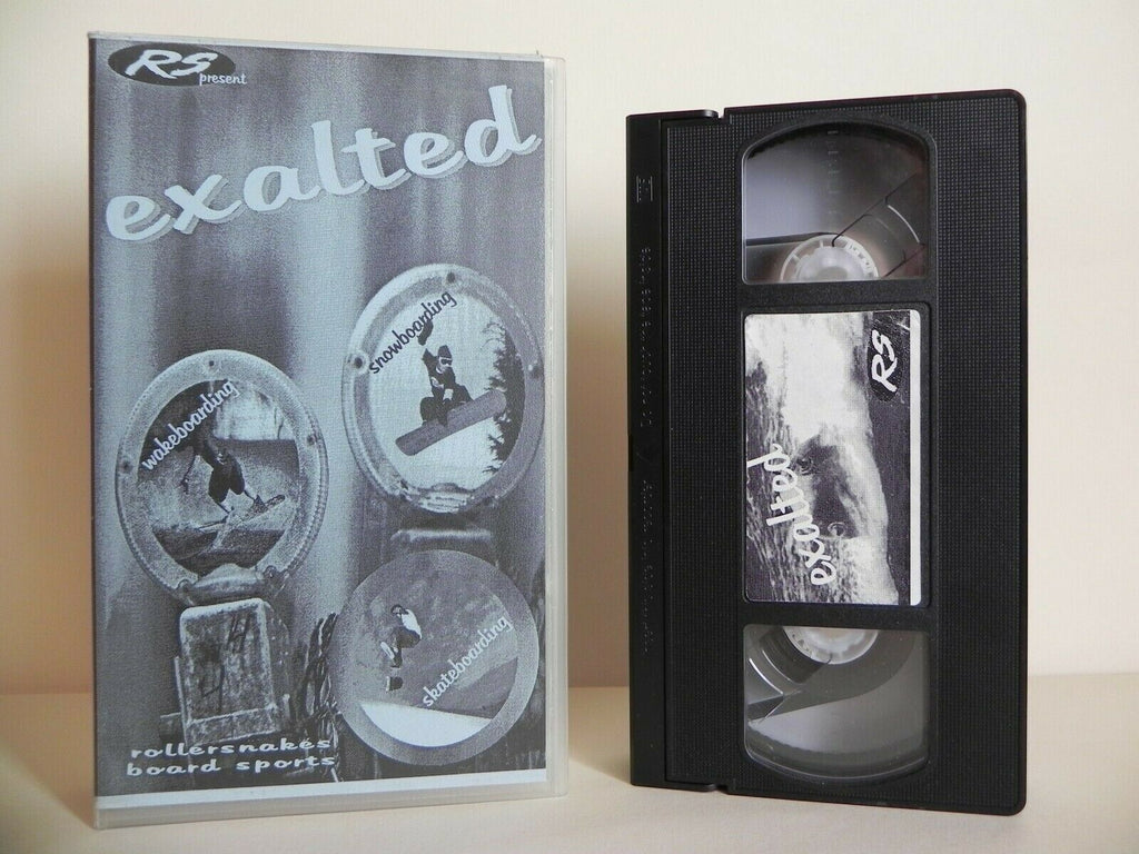 Exalted - Rollersnakes Board Sports - Snowboarding - Skateboarding - Pal VHS