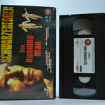 The Running Man: Stephen King - Sci-Fi Action - Arnold Schwarzenegger - Pal VHS