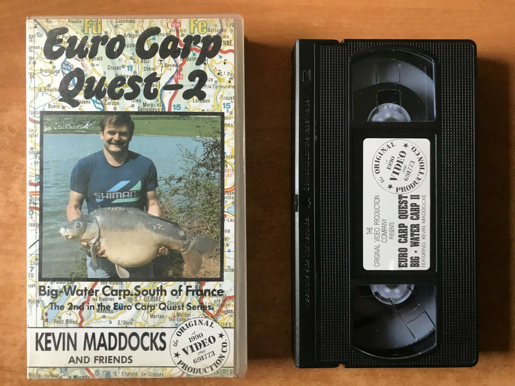 Euro Carp Quest 2; [Kevin Maddocks] Stefan Bal - Fishing - Southern France - VHS