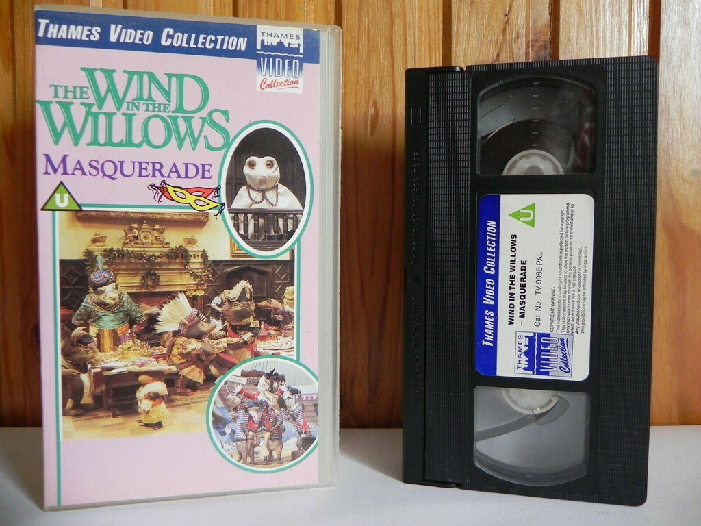 The Wind In The Willows: Masquerade - Thames Video - Animated - Kids - Pal VHS