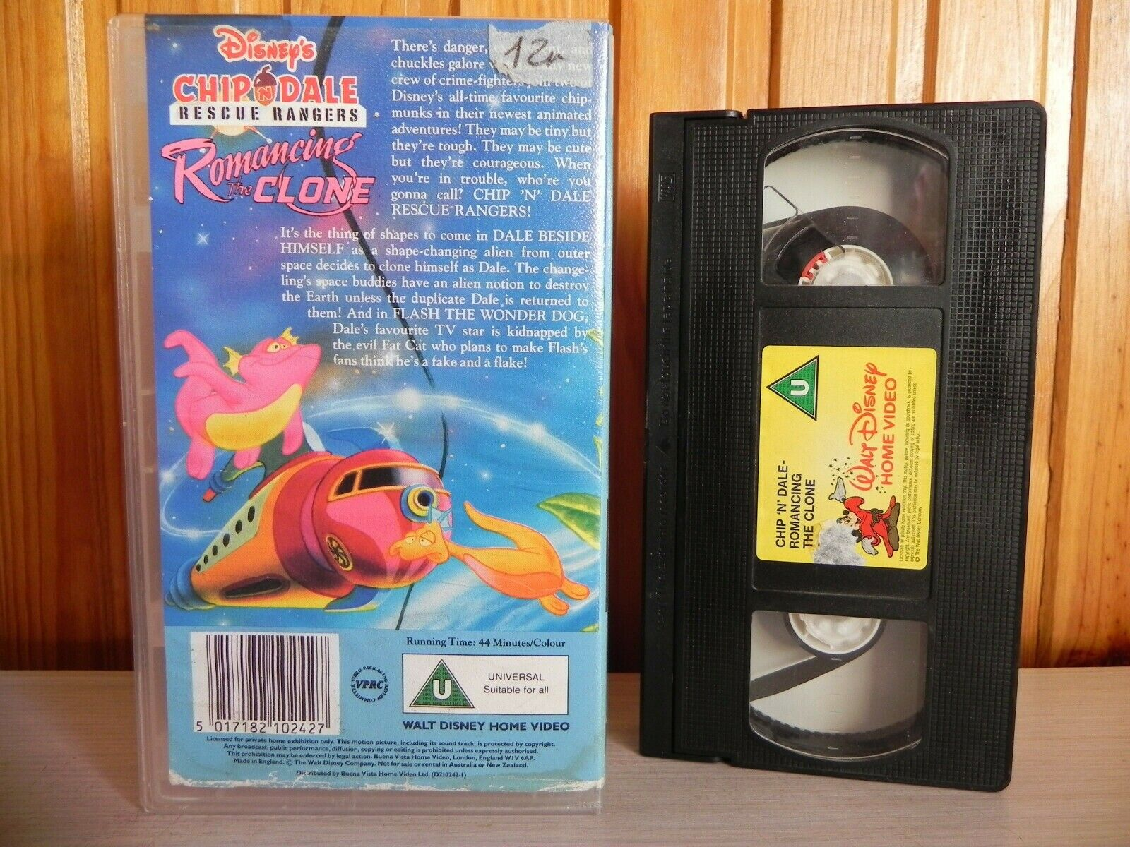 Chip 'n' Dale (Rescue Rangers): Romancing The Clone - Retro Kids Animation - Pal VHS
