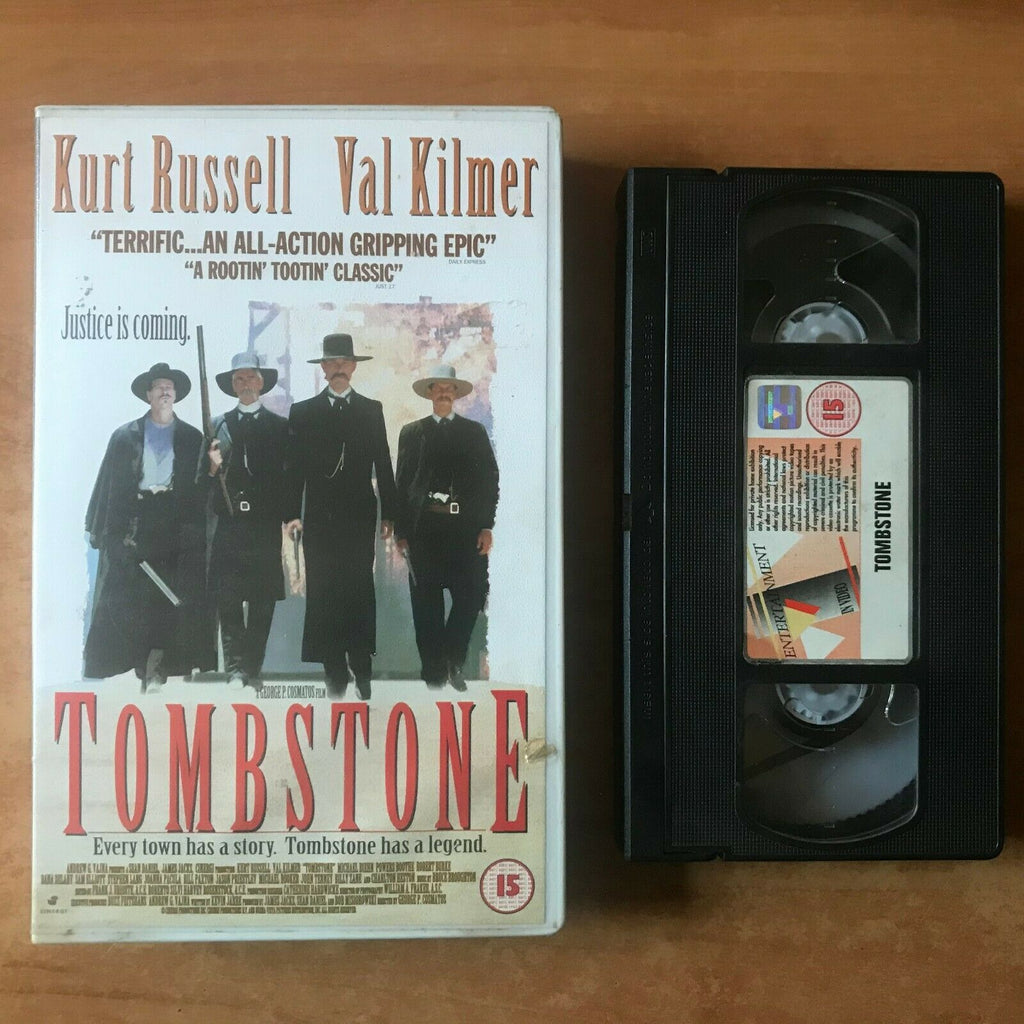 Tombstone (1993): Biographical Drama - Action [Large Box] Kurt Russell - Pal VHS