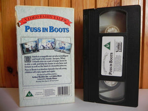 Puss In Boots - Fairytale - Animated - Adventures - Children's - Carton - VHS