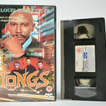 Tongs: Made For T.V. - Adventure - Chinatown Action - Louis Gossett Jr. - VHS
