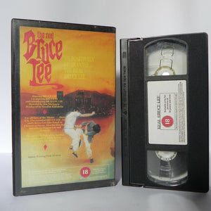 The Real Bruce Lee - Martial Arts - Early Lee Film - Classic - Cert (18) - VHS