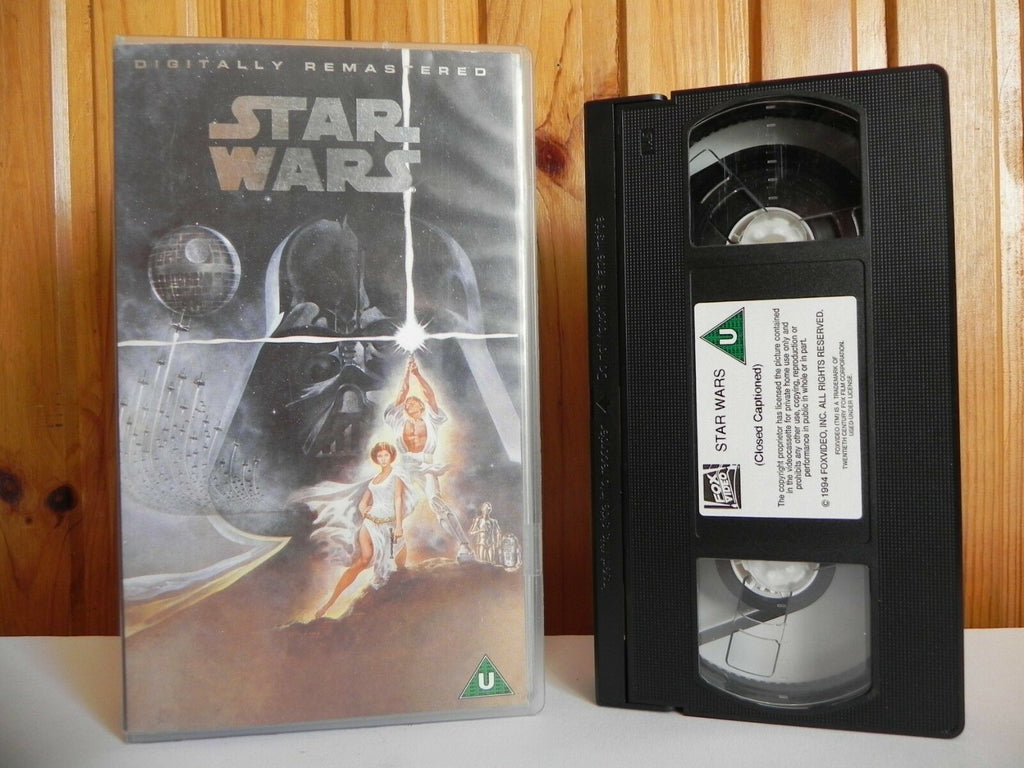 Star Wars - Fox Video - Sci-Fi - Fantasy - Digitally Remastered - Pal VHS