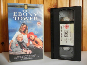 The Ebony Tower - Classic TV Drama - Laurence Olivier - Greta Scacchi - Pal VHS