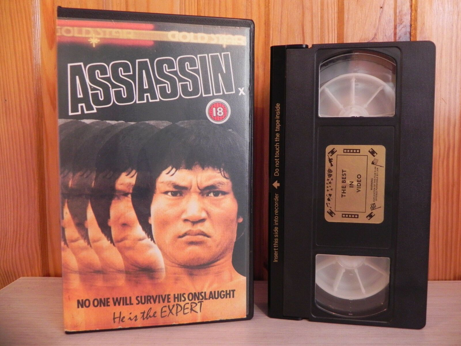 Assassin - Pre-Cert - Martial Arts - Action - Gold Star - Derann - FGS902 - VHS