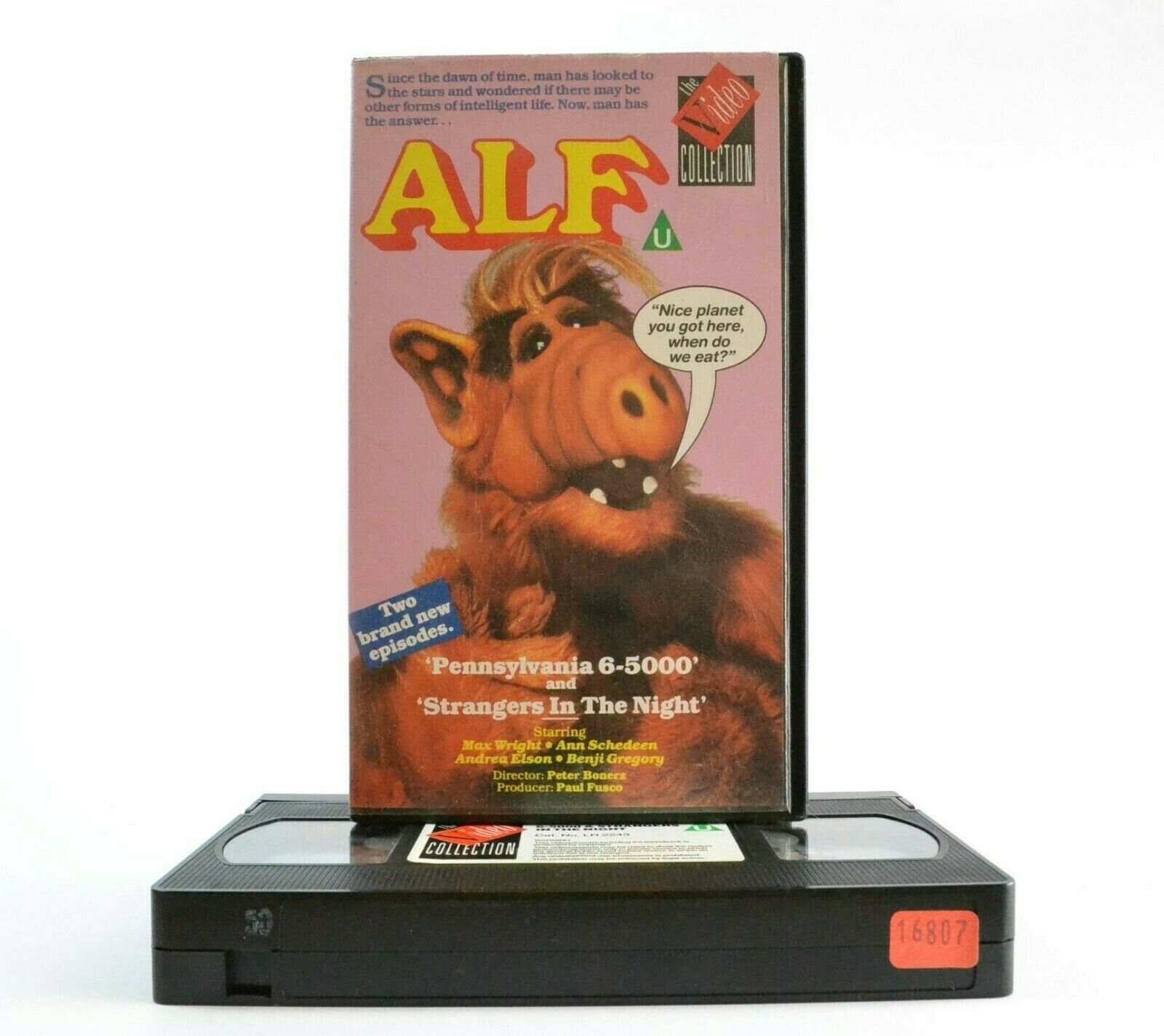 Alf: Classic Comedy Series - E.T. From Planet Melmac - M.Wright/B.Gregory - VHS