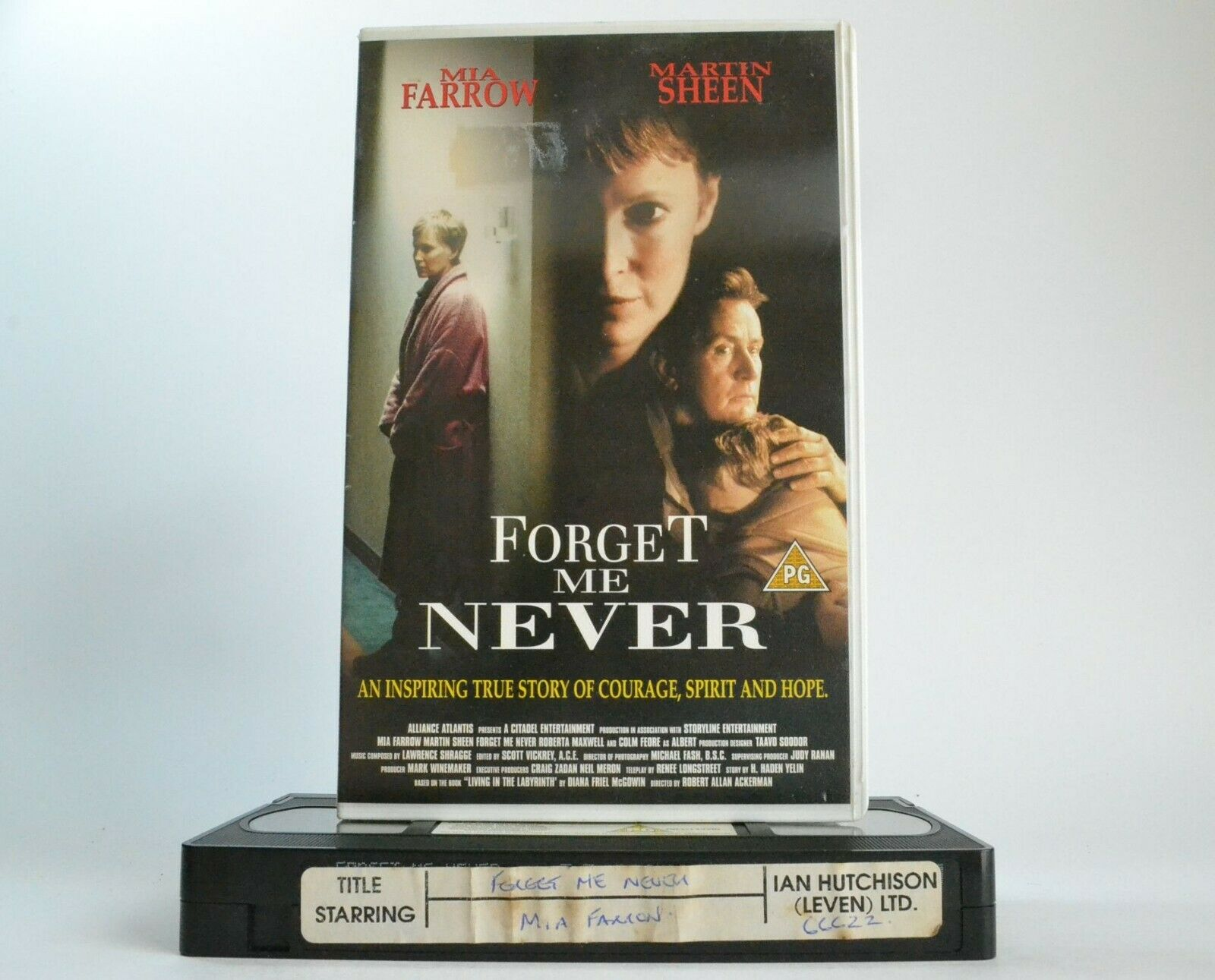 Box, Drama, Forget, Forget Me Never, Large, Me, Mia, Pal, Sheen, TV, VHS