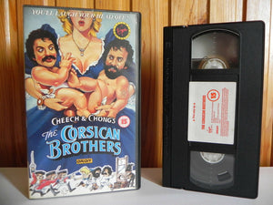 Cheech And Chong - Corsican Brothers - Any Thing Goes - Comedy - Pal Video - VHS