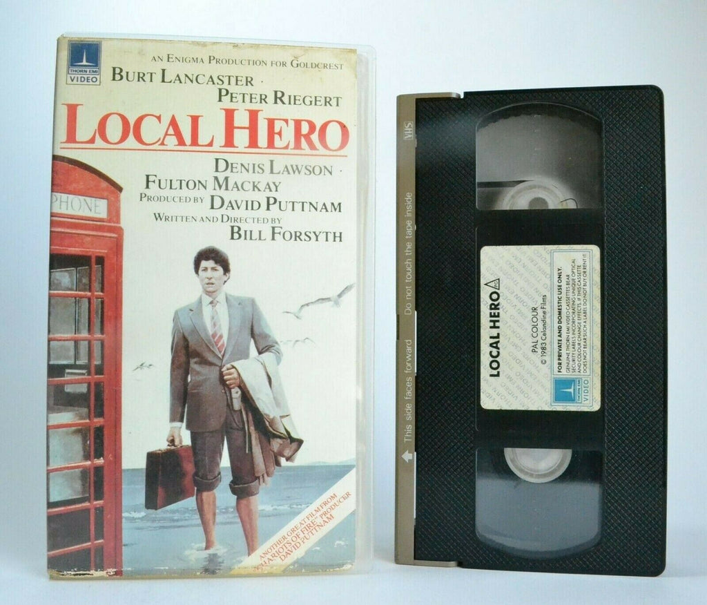 Local Hero: B.Forsyth (1983) - Scottish Comedy Drama - B.Lancaster - Precert VHS