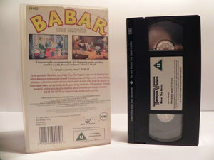 Babar: The Movie - Charming Story - Exciting Adventures - Children's - Pal VHS