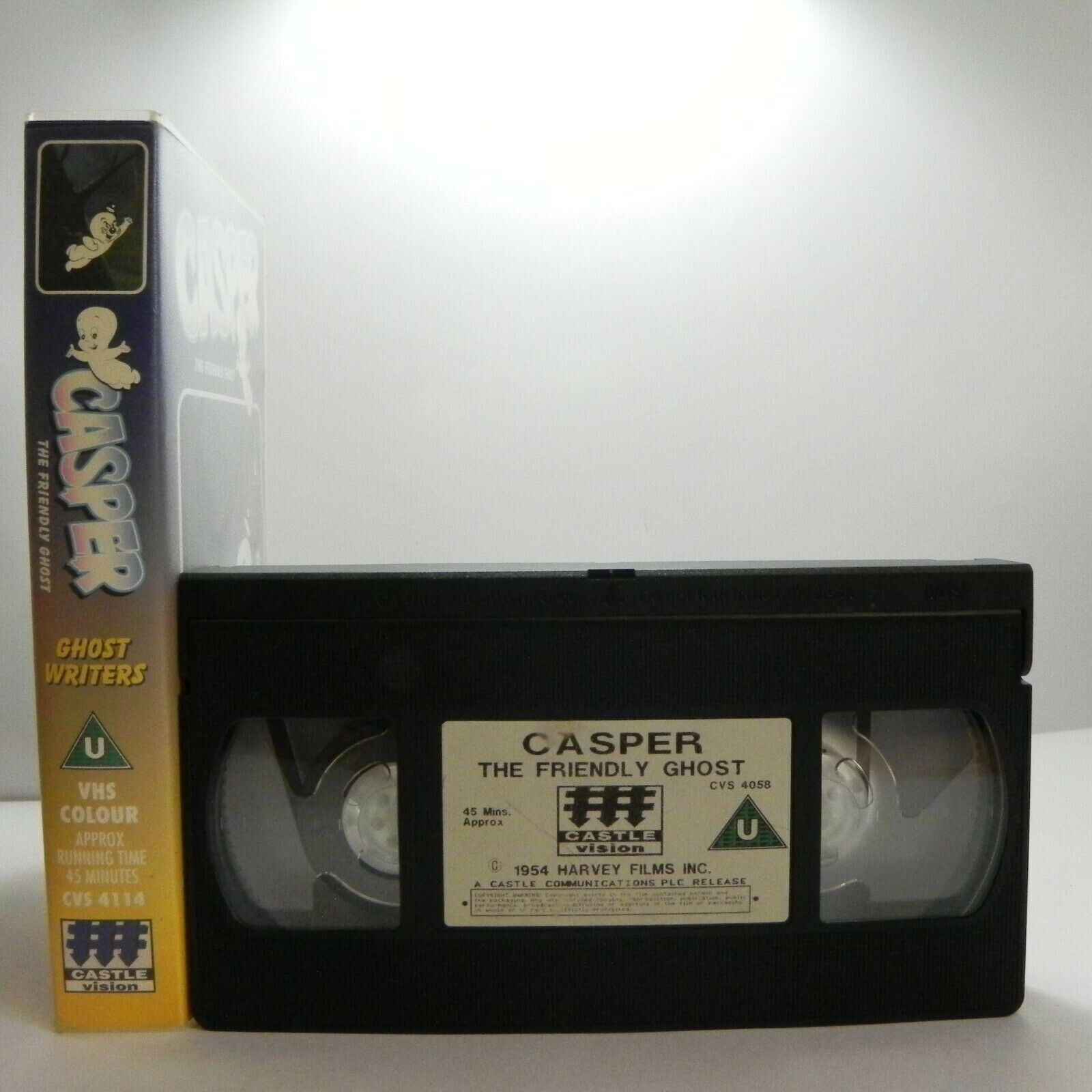 Casper The Friendly Ghost: Ghost Writers - Animated - Classic Adventures - VHS