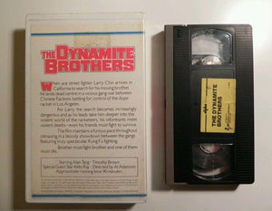 Intervision Slam - The Dynamite Brothers - Big Box - Ultra Rare - Pre Cert - VHS