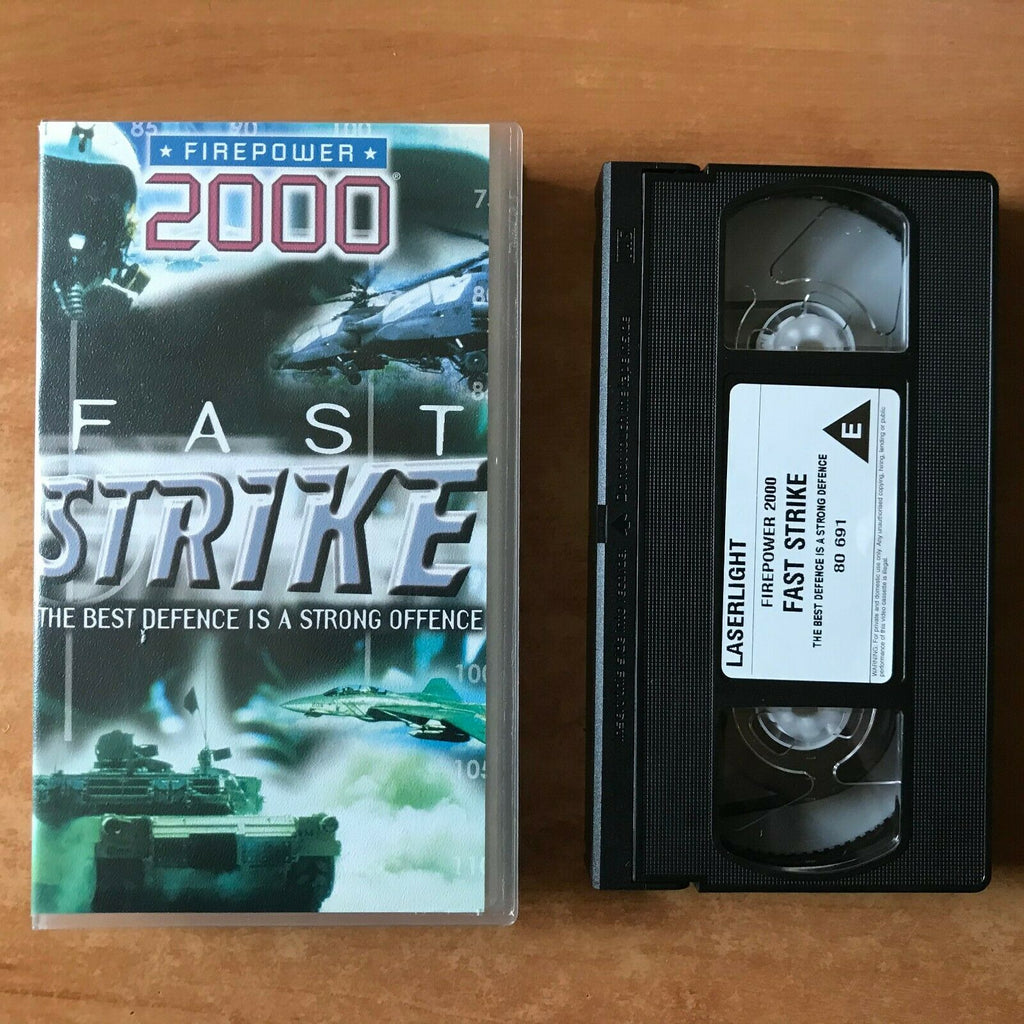 Firepower 2000: Fast Strike - F-16 Fighting Falcon - Navy F-14 Tomcat - Pal VHS