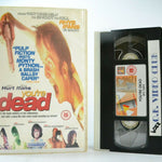 You're Dead (1999): British Dark Comedy - Large Box - J.Hurt/R.Ifans - Pal VHS