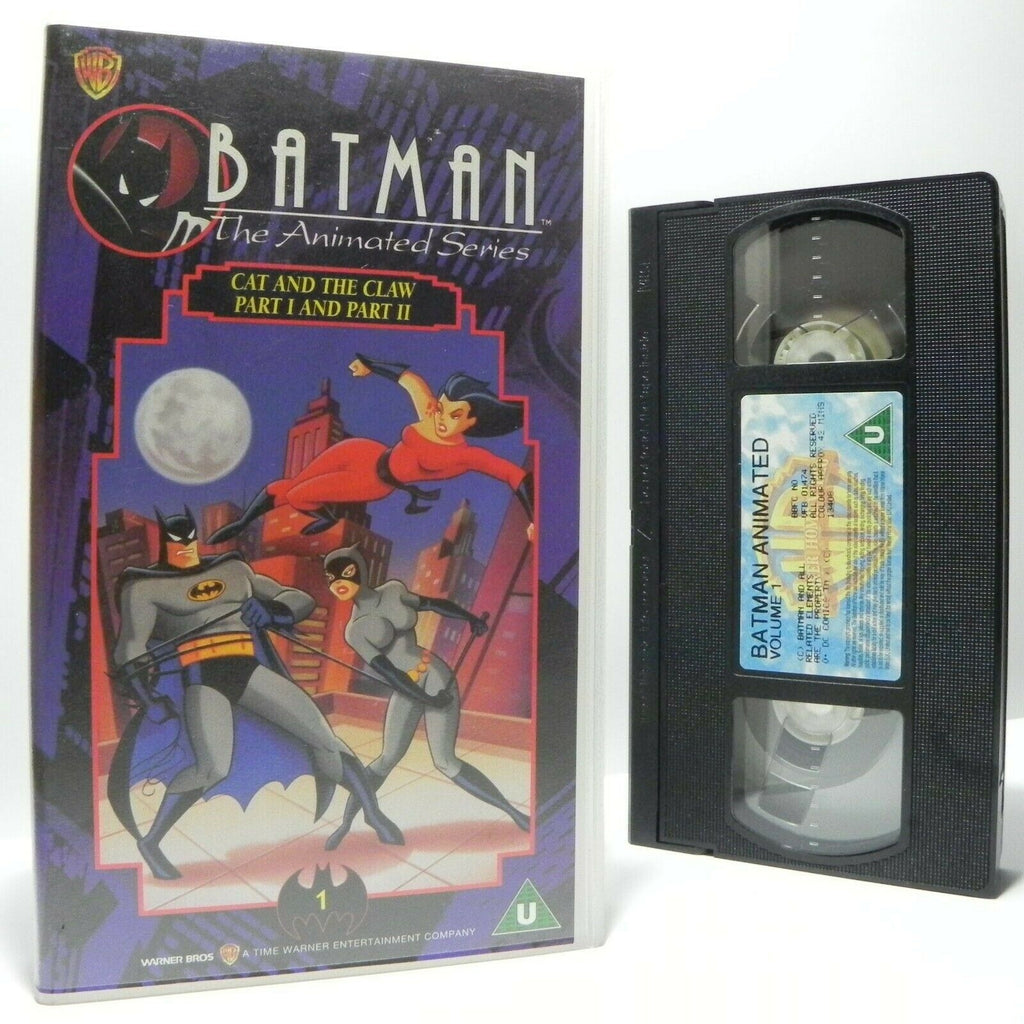 Batman: The Animated Series - CASSETTE No.1 - Action Adventures - Kids - VHS