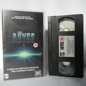 The Abyss: Deep Sea Nightmare - Ed Harris (1989) - James Cameron Film - VHS