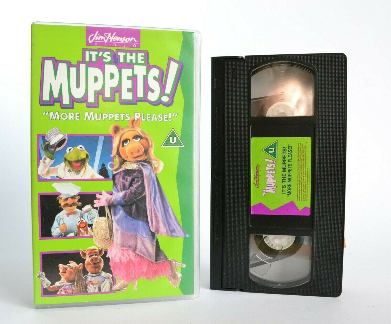 It's The Muppets!: More Muppets Please! - Classic Children's Series - Pal VHS