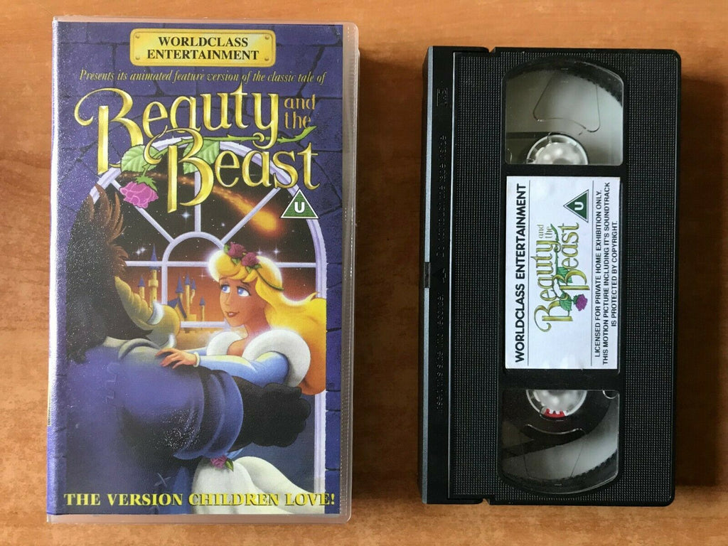 And, Animated, Animation & Anime, Beauty, Entertainment, Fairy Tale, Pal, The, VHS, Worldclass