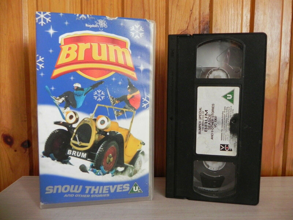 Brum - Snow Thieves - Loo - Bowling - Ragdoll's Preschool - Kids Video - Pal Vhs