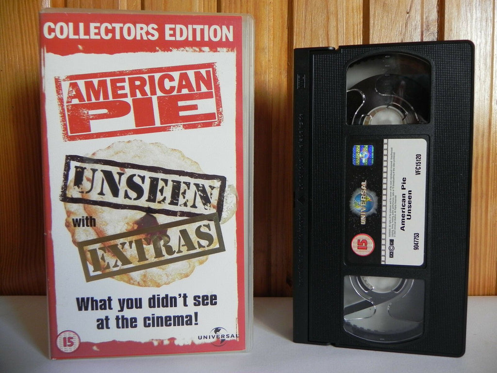 American Pie - Universal - Comedy - Collectors Edition - Unseen - Extras - VHS