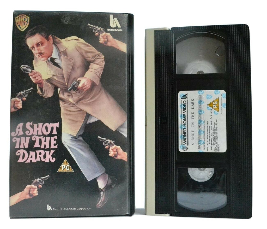 A Shot In The Dark: Pink Panther Film Series - Comedy - Peter Sellers - Pal VHS
