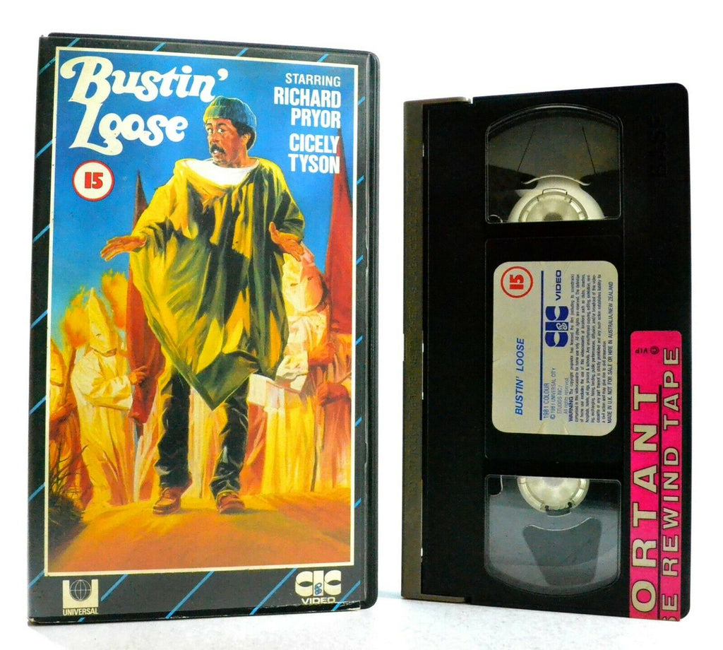 Bustin' Loose: CIC Video (1991) - Comedy/Drama - Ex-Rental - Richard Pryor - VHS